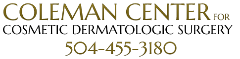 Coleman Center for Cosmetic Dermatologic Surgery Logo